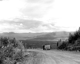 Alaska Highway, Mile 251.8 Looking West