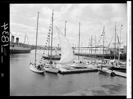 Swiftsure Yachts In The Inner Harbour, Victoria