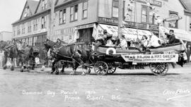 """Dominion Day parade, 1912, Prince Rupert, BC"""