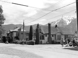 Mount Cheam and Agassiz.