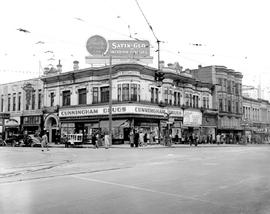 Victoria; Northwest Corner Of Yates And Douglas Streets; Cunningham Drugs On The Corner, Liberty ...