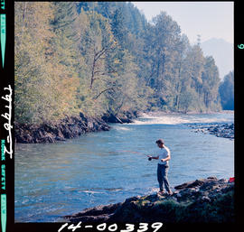 Fishing on Chilliwack River