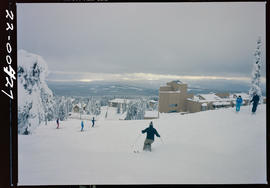 Skiing At Apex Alpine, Penticton