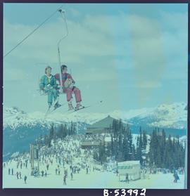 Chairlift, Whistler Mountain, Garibaldi Park