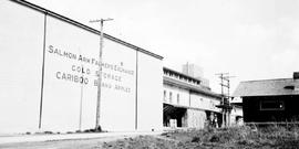 """Salmon Arm Farmers' Exchange, Cold Storage, Cariboo Brand Apples""."