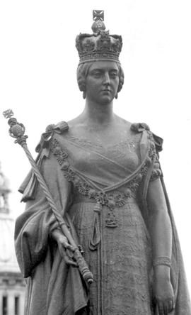Queen Victoria Statue, Legislative Buildings, Victoria