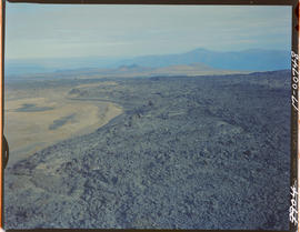 Aerial. Lava Beds On Klastline Plateau