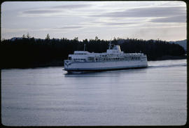 BC Ferry In The Gulf Islands