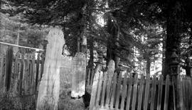 Barkerville cemetery.