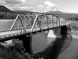 Bridge At Coal River, Mile 533 Alaska Highway