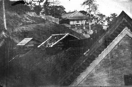 [Canton, China] 1) Looking from the top of the barracks of the Marine Artillery on the side of Ma...