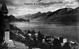 """Ainsworth, B.C., on Kootenay Lake"""