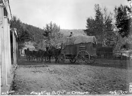 Freight outfit at Soda Creek.
