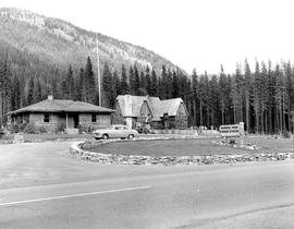 Forest Service Ranger Station, Manning Park, Hope-Princeton Highway.