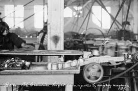 Richmond; BC Canneries; Light Cans Rejected By Weighing Machine