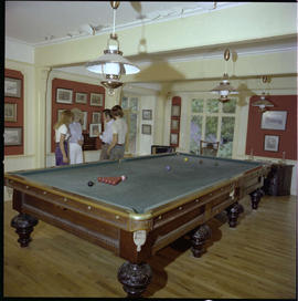 Pool Room In Colling Home Shuswap Lake