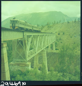 Dayliner Train On Lillooet Bridge