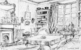 Drawing Room, Clipstone [While At School In England]