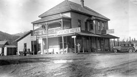 """Cascade Hotel""; owned by J. A. Bertois."