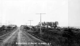 """General View of Sidney, BC."""