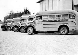 Buses owned by Powell River School District
