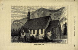 "Christ Church, Hope; from ""The Diocese of British Columbia"", Mission Life, Volume III, ..."