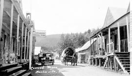 Covered Wagon, Barkerville.