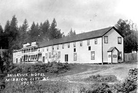 """Bellevue Hotel, Mission City, BC."""