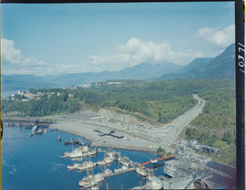 Alaska Ferry Terminal Facilities At Prince Rupert