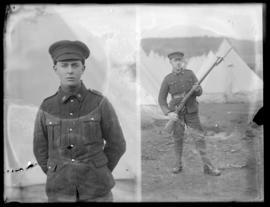 Soldiers at Willows Camp, CSEF