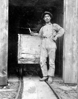 A Japanese miner employed...