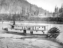 The SS Lillooet at Yale.