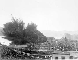 Blasting at Prince Rupert; see also HP000995