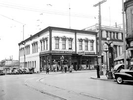 Victoria; Northwest Corner Fort And Government Streets; Canadian Pacific Office Beside The Royal ...