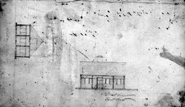 "Sketch of Fort Kamloops, BC; from ""Fort Kamloops Journal"" kept by John Tod, 31 August 1841 to 19 December 1843; BC Archives A/B/20/K12 - 1841-43."
