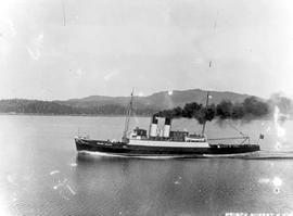 The SS William Joliffe entering Prince Rupert