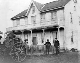 150 Mile House; George Veith and manager Joseph Patenaude