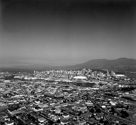 Aerial Of The Expo Site, Vancouver