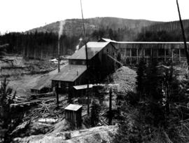 Stamp mill of the Cariboo...