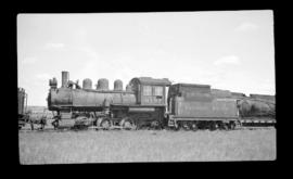 0-6-0, No. 6197, Switcher; Ogden Yard, Calgary, Alberta