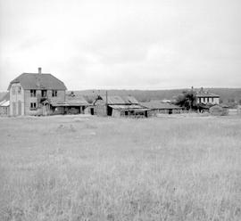 Fort Steele shortly before restoration.