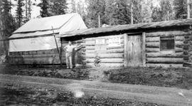 Forestry training camp, Lumby.