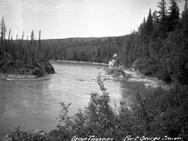 """Canoe Canyon, Fort George Canyon""."