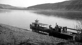 The 'Weaver' on the Peace River.