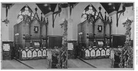 The organ at the Reformed Episcopalian Church; Church of Our Lord; Humboldt Street, Victoria.