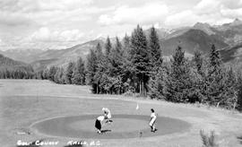 """Golf course, Kaslo, BC."""