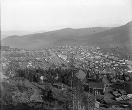 Left side of a view of Rossland; see I-67894 for the right side.