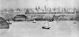 Sketch of Fort Victoria.