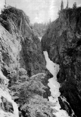 Swannell survey; unidentified waterfall.
