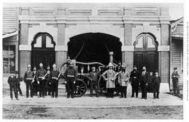 Members of Deluge Fire Department, Victoria.